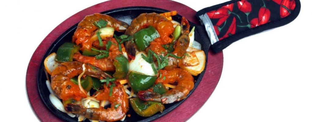 Venez goûter à notre spécialité de crevettes..